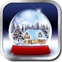 Application snow globe icon
