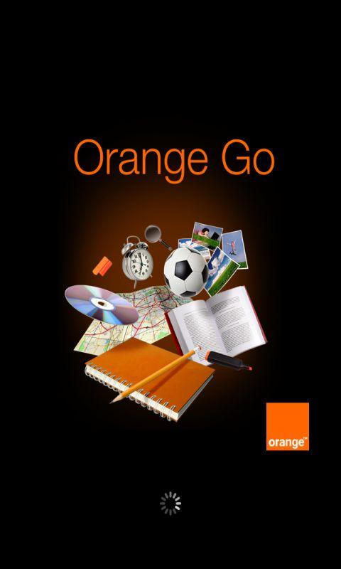 Orange Go - screenshot