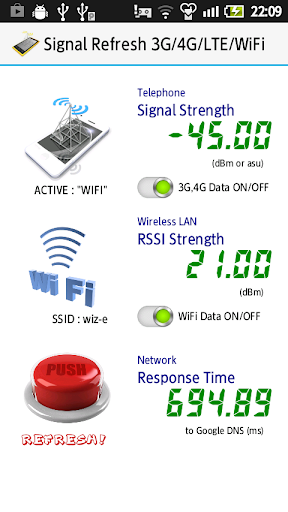 Signal Refresh 3G 4G WiFi