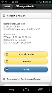 Restaurant LUEGETEN - screenshot thumbnail