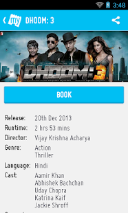 BookMyShow–Movie Tickets,Plays - screenshot thumbnail