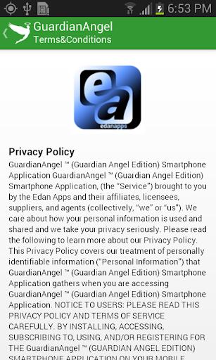 【免費生活App】Guardian Angel-APP點子