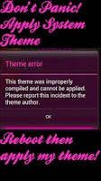 Screenshot of Pink Jelly CM10 Theme Chooser