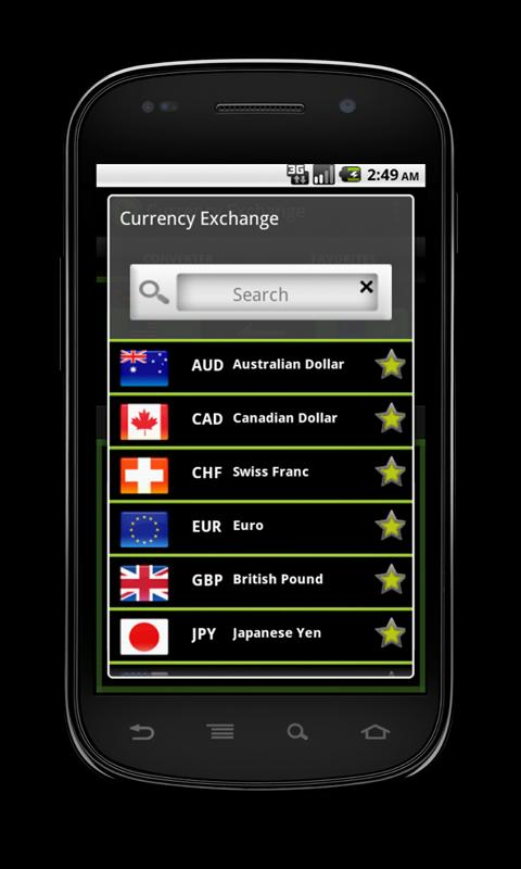 Currency Exchange Pro- screenshot