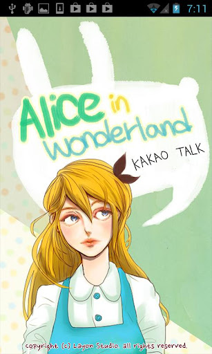 Kakaotalk Theme - Alice Talk