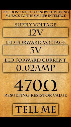 【免費工具App】LED Resistor Calculator-APP點子