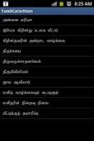 Screenshot of Tamil Catechism Book
