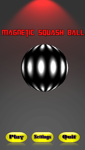Magnetic Squash Ball