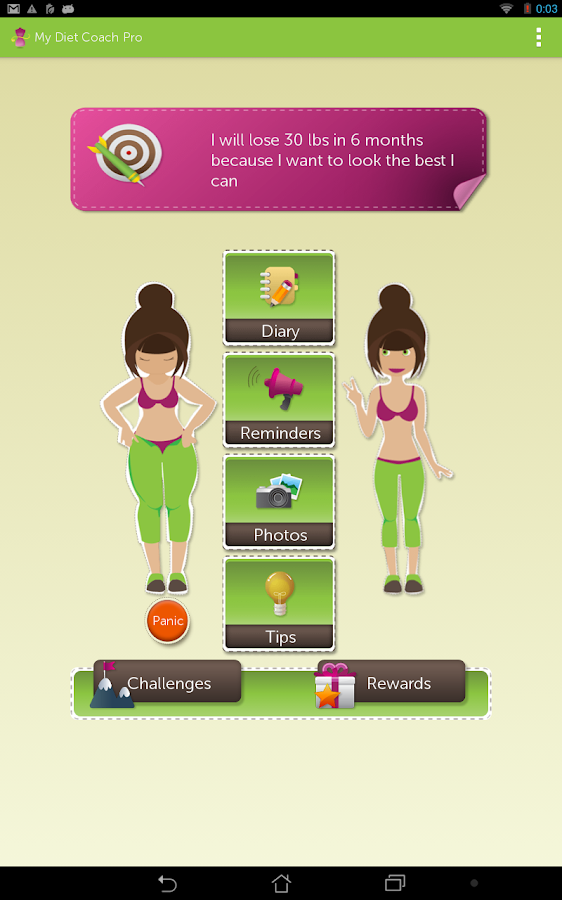 My Diet Coach - Pro- screenshot