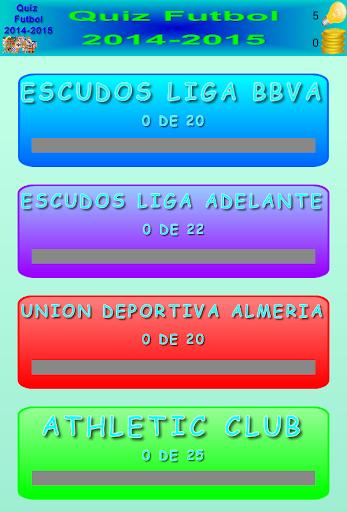 Quiz Futbol 2014-2015
