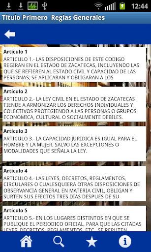 Codigos Zacatecas