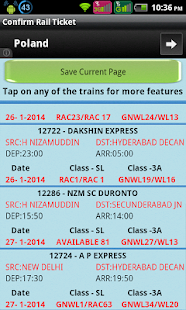 Indian Rail Confirm Ticket - screenshot thumbnail