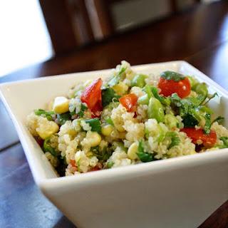 Quinoa Edamame Mexican Salad Recipe