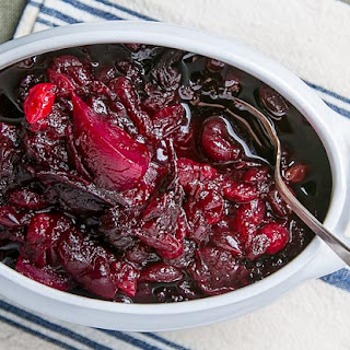 Cranberries with Beets and Cardamom.