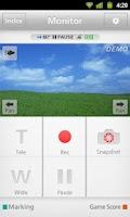 Screenshot of Everio sync. 2