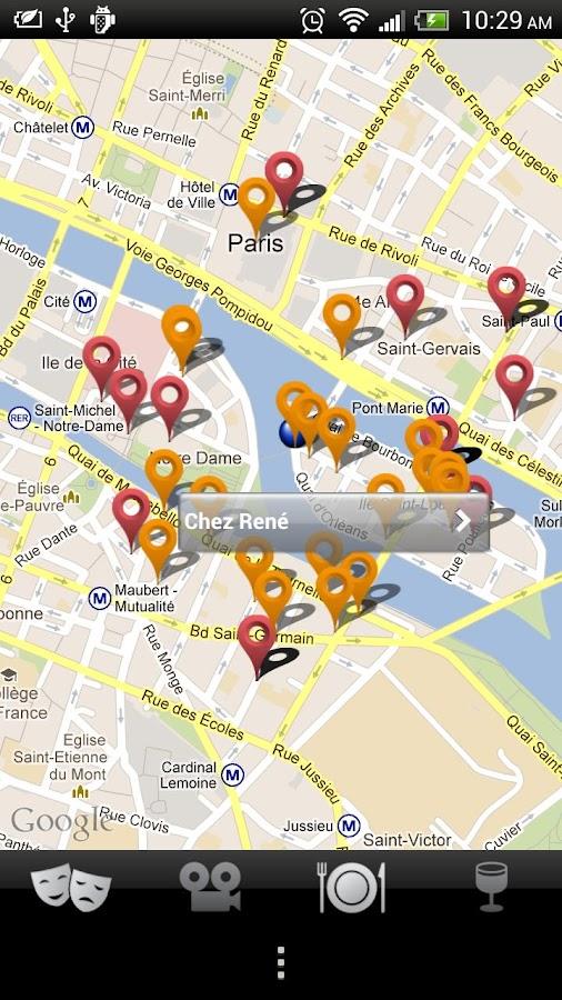 Tout Paris dans la poche - screenshot