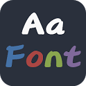Pudding Style FlipFont® Free icon