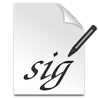 Signature Capture icon
