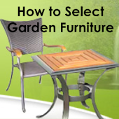 How To Choose Garden Furniture