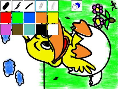 kids paint coloring free screenshot thumbnail - Kids Paint Free