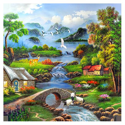 美麗風景拼圖 休閒 App LOGO-APP試玩