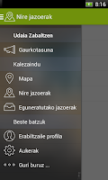 Screenshot of Derio Zabaltzen