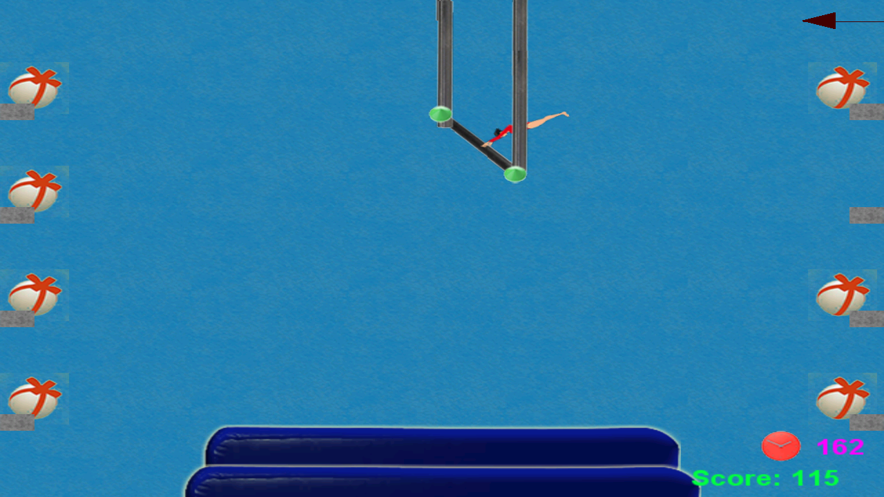 Gymnastics Trampoline- screenshot
