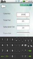 Screenshot of Calorie Counter & Tracker