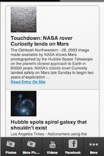 Hubble Space Telescope - screenshot thumbnail