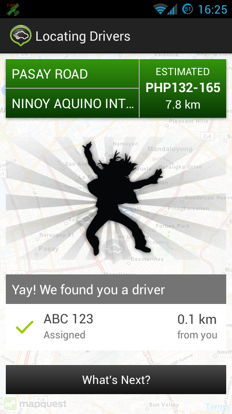 GrabTaxi: Book A Taxi - screenshot