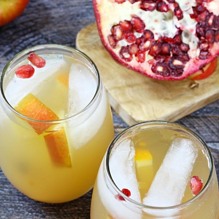 Sparkling Pomegranate Fruit Sangria Recipe