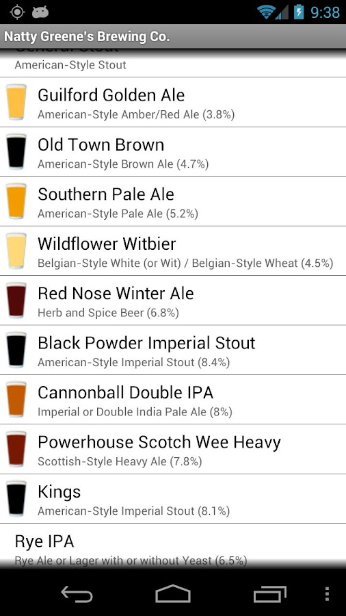 BreweryMap #1 Brewery Map App - screenshot