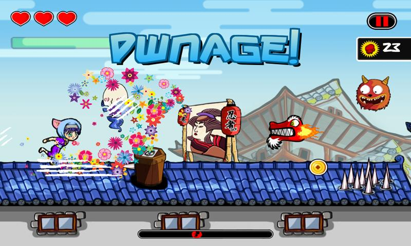 Ninja Sprint- screenshot
