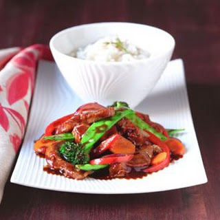 Sweet Ginger Soy Pork and Vegetable Stir-Fry