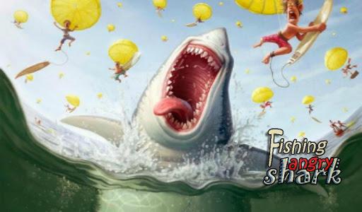 Fishing Angry Shark