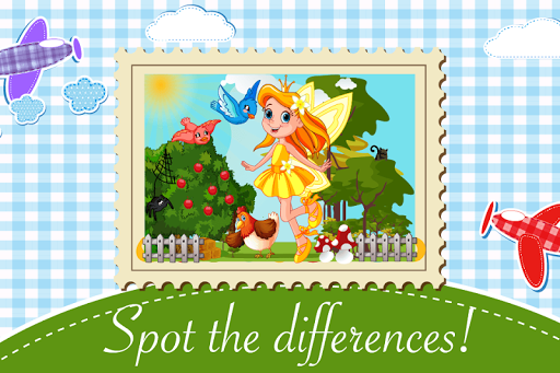 Fairy Tale Differences Game