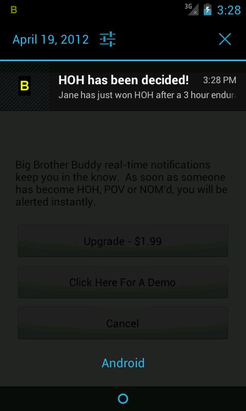 Big Brother 18 Buddy (US)- screenshot