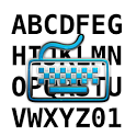 Transparent Keyboard icon