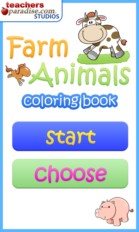 Farm Animals Coloring Book- screenshot
