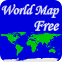World Map Free icon