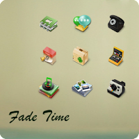 Fade Time Go Launcher EX Theme 1.6