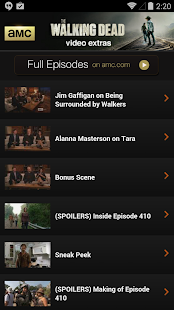 AMC Mobile for phone - screenshot thumbnail