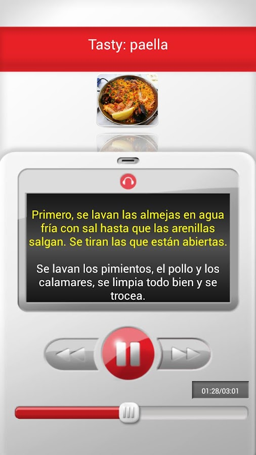 Listen and Learn Spanish - screenshot