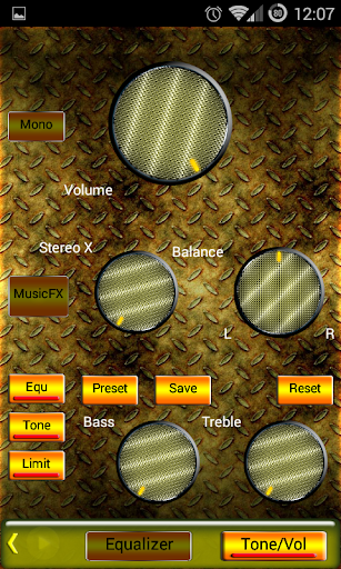 Poweramp Skin Yellow Metal 2 0 (Android) - Download APK