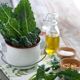 Spicy Smoky Kale Chips.
