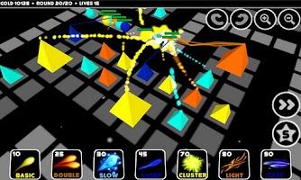 Screenshot of Pyra Tower Defense Free
