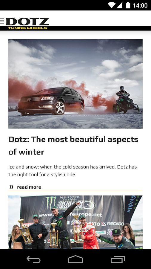 Dotz Wheels Configurator- screenshot