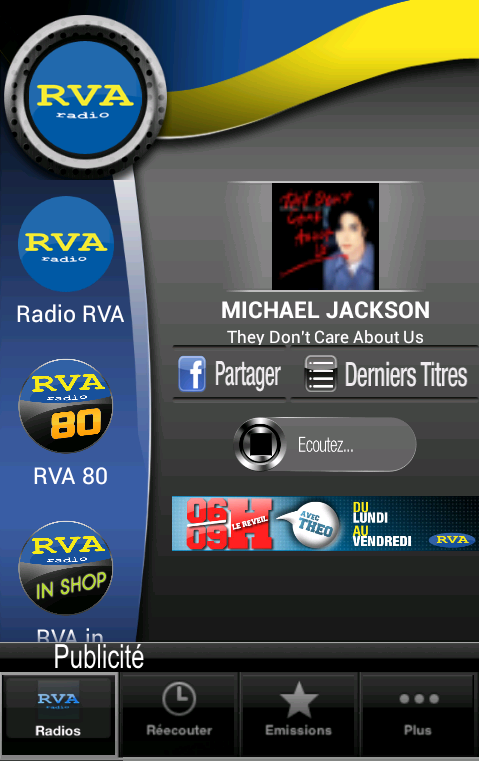 Radio RVA- screenshot