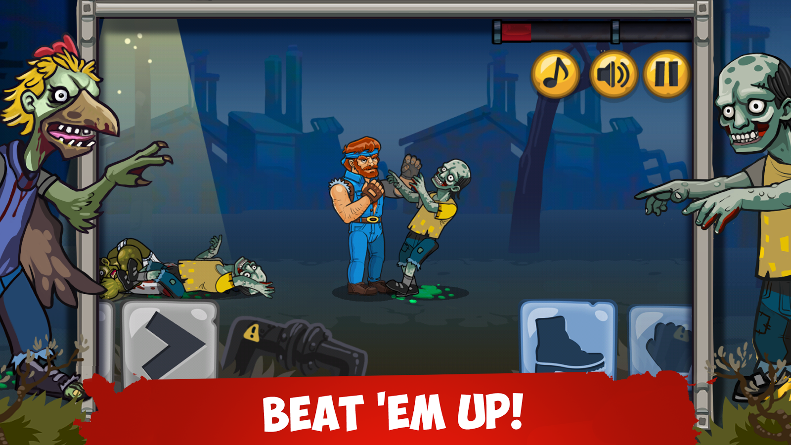 Chuck vs Zombies- screenshot