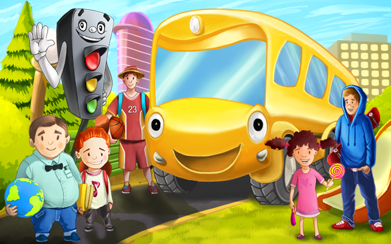 bus story for kids 4 6 years screenshot - Picture For Kids